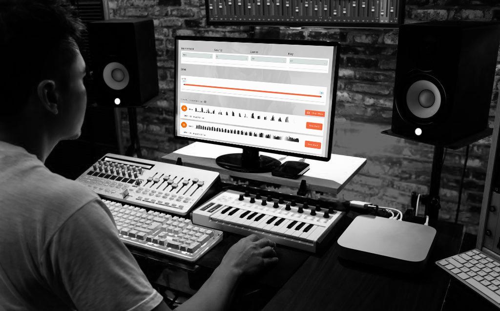 Producer Making Beats